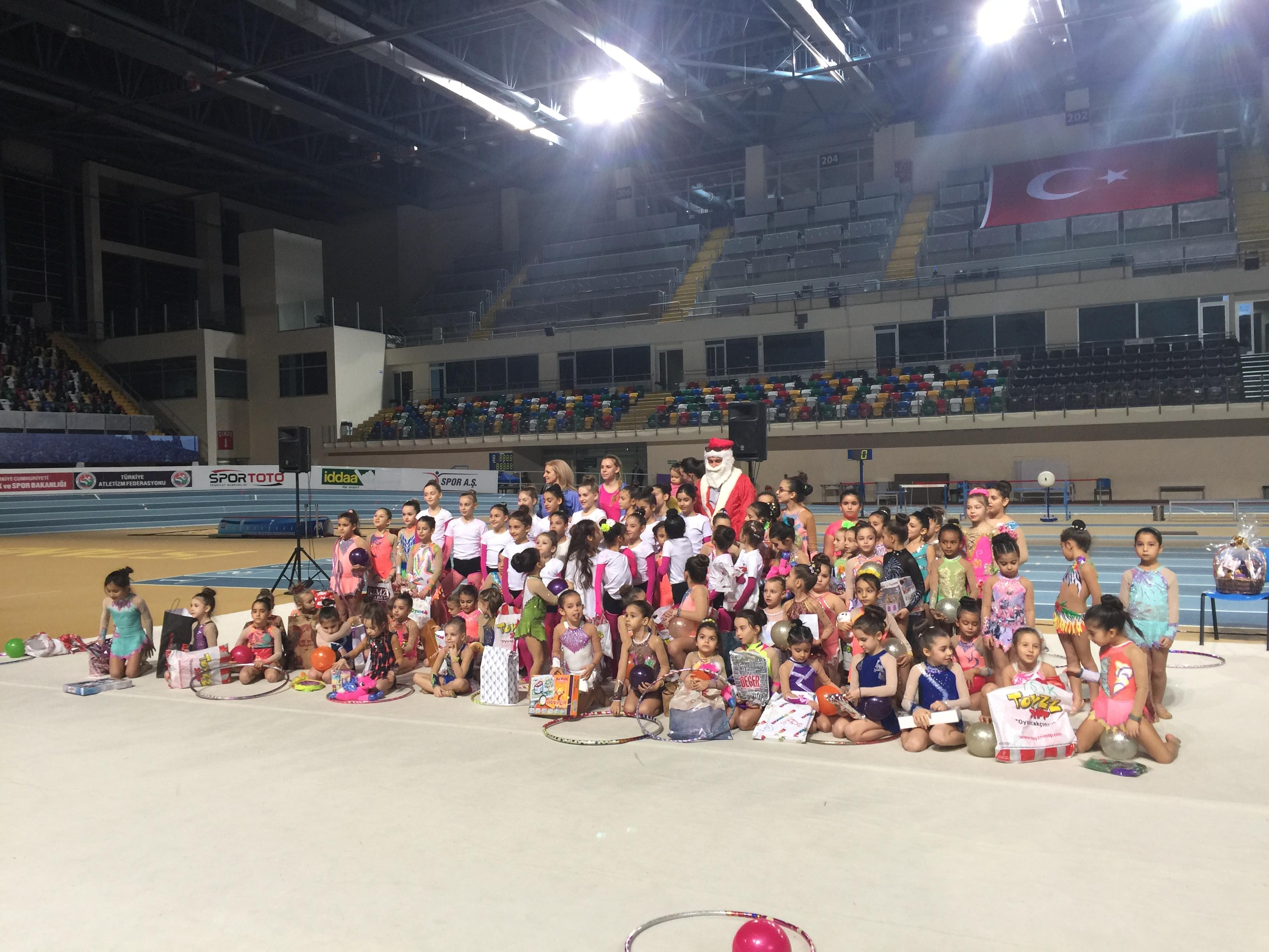 Acıbadem Cimnastik Yıl Sonu özel 28.12.2016