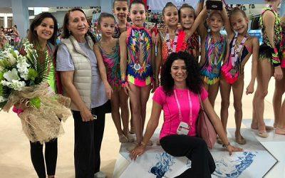 Türkiye Cimnastik Federasyonu 1. Liginde, Mersin'den 2.'lik